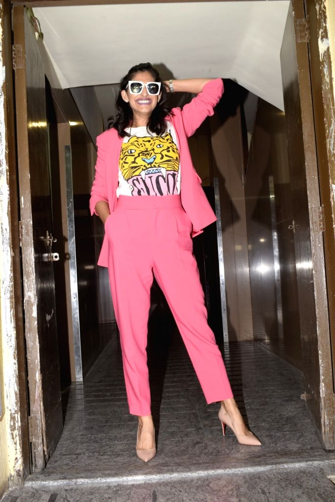 "Actress Sonam Kapoor at the special screening of the upcoming film ""Gully Boy"" in Mumbai, on Feb 13, 2019. - Sonam Kapoor"