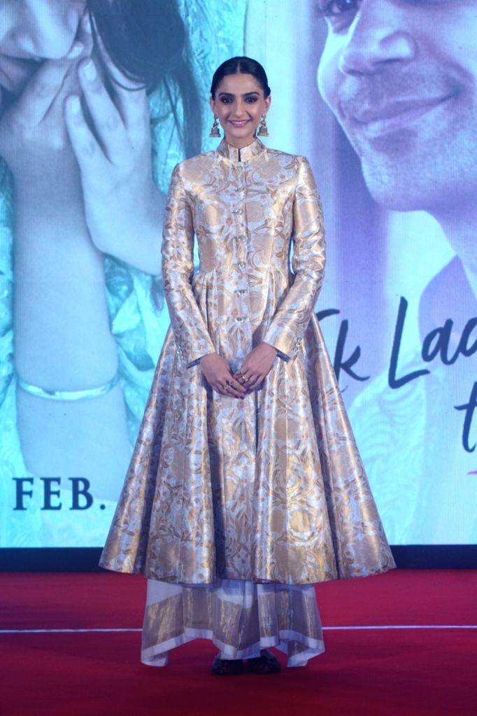 "Actress Sonam Kapoor during a press conference to promote her upcoming film ""Ek Ladki Ko Dekha Toh Aisa Laga"" in Mumbai, on Jan 28, 2019. - Sonam Kapoor"