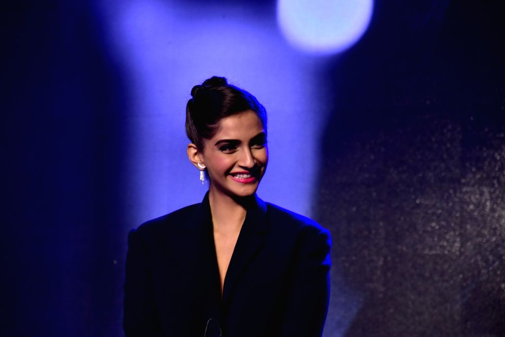 Actress Sonam Kapoor during the promotion of OPPO Mobiles in Mumbai on August 3, 2016 - Sonam Kapoor