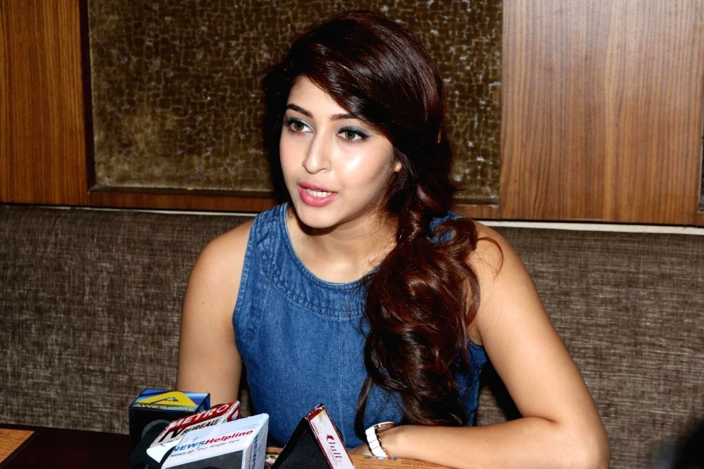 Actress Sonarika Bhadoria during the Interview at the launch of film Saansein,  in Mumbai, on Oct 27, 2016. - Sonarika Bhadoria