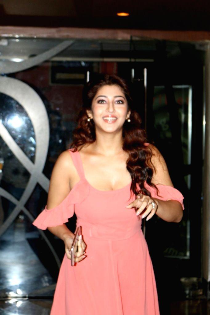 Actress Sonarika Bhadoria during the trailer launch of film Saansein, in Mumbai on Oct 5, 2016. - Sonarika Bhadoria