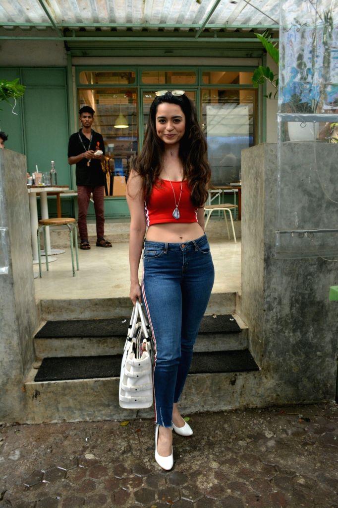 Actress Soundarya Sharma seen at Mumbai's Bandra on July 20, 2018. - Soundarya Sharma