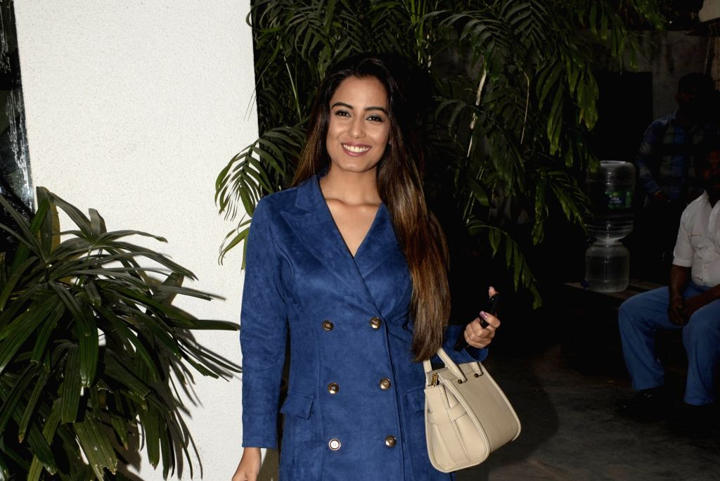 Actress Srishty Rode at the Screening of Alt Balaji's new web series Punch Beat in Mumbai on Feb 11, 2019. - Srishty Rode