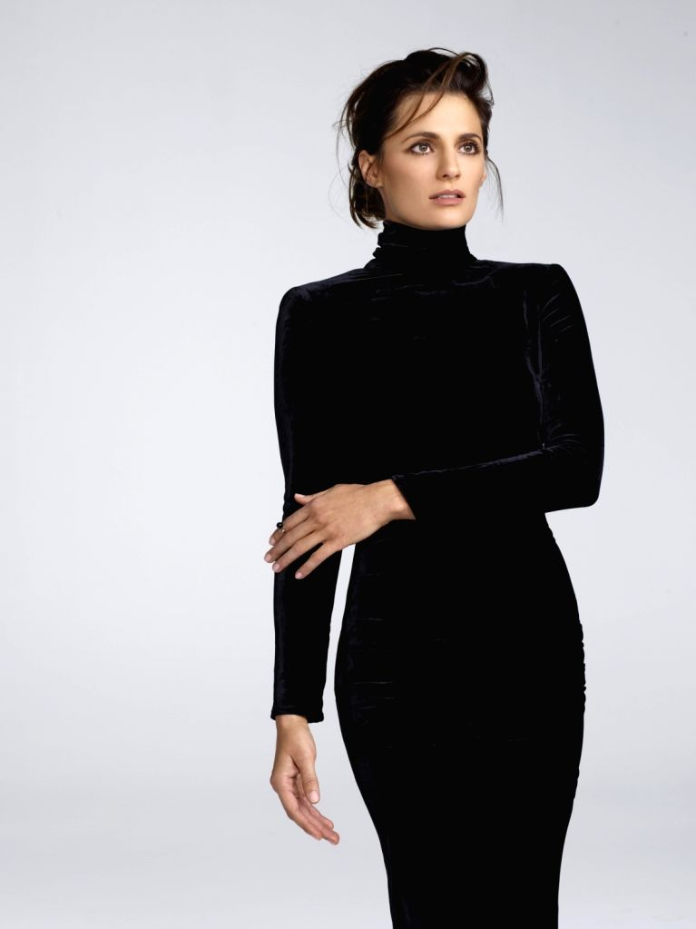 Actress Stana Katic. (Photo credit: Nino Munoz) - Stana Katic