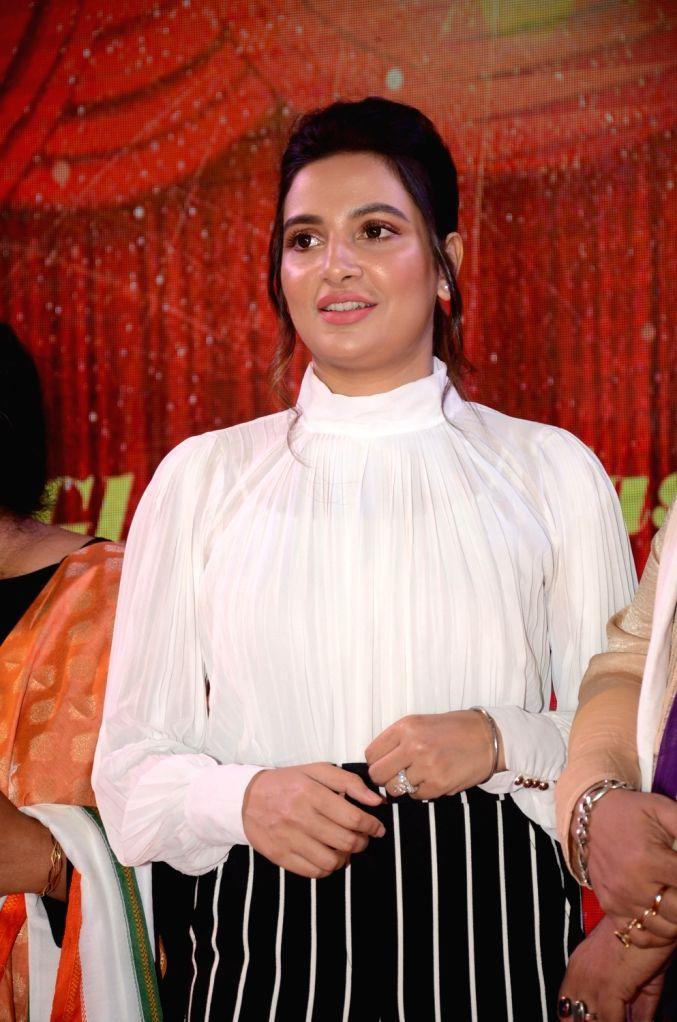 "Actress Subhashree Ganguly during ""The Glam Fashion Show"" in Kolkata, on March 3, 2019. - Subhashree Ganguly"