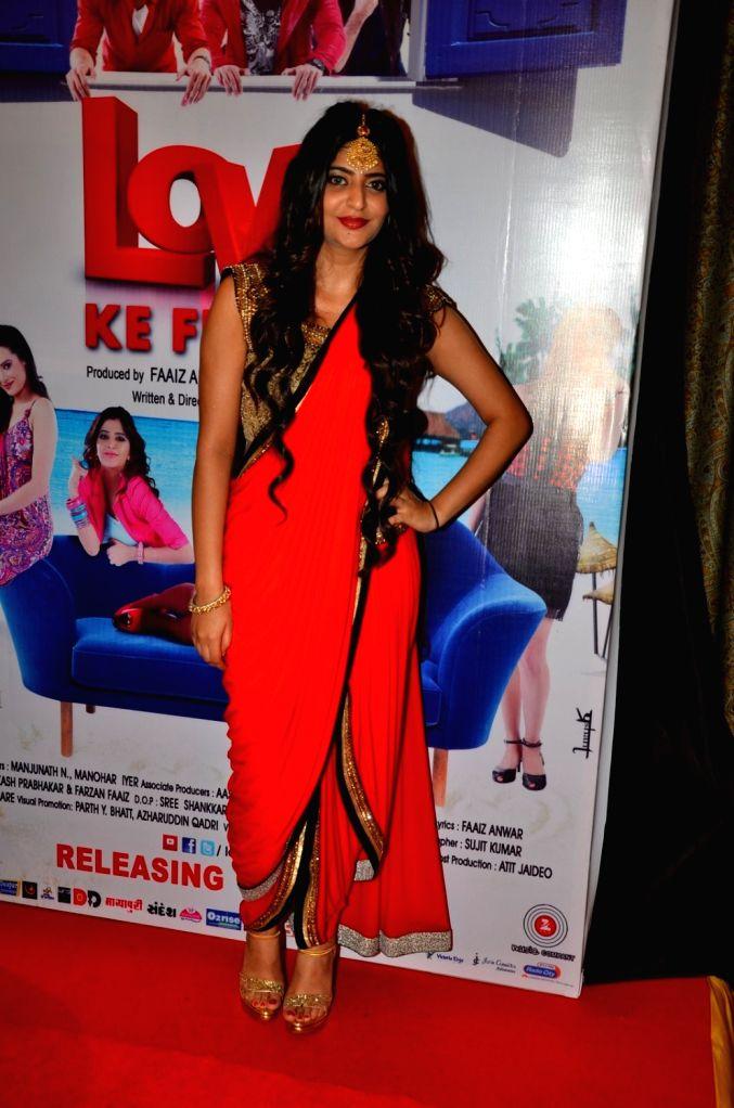 Actress Sufi Gulati during the audio launch of film Love Ke Funday, in Mumbai on June 22, 2016. - Sufi Gulati