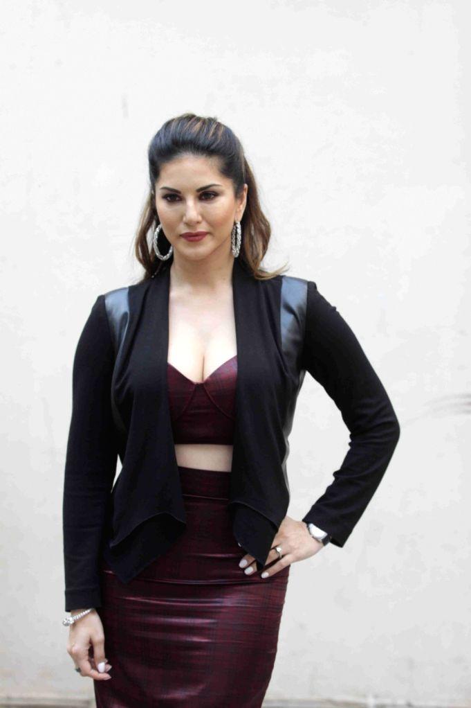Actress Sunny Leone addressing media on film Mastizaade in Mumbai on January 15, 2016. - Sunny Leone