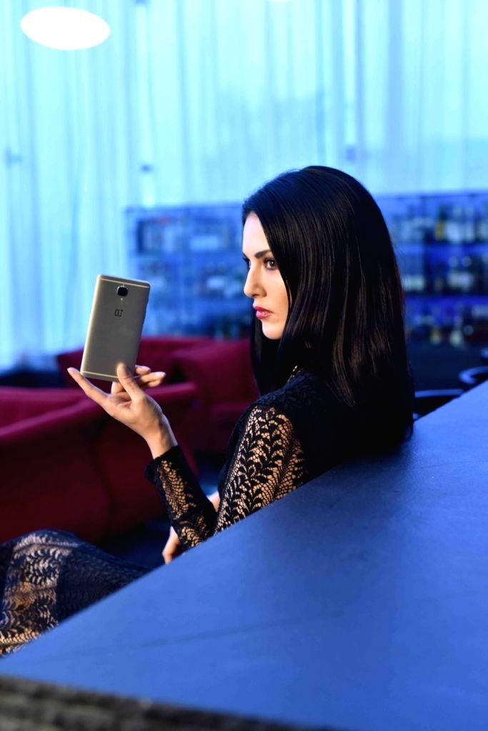 Actress Sunny Leone during a photo shoot. - Sunny Leone