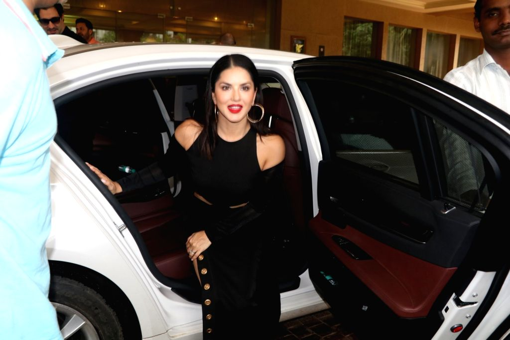 Actress Sunny Leone during the launch of Manforce special calendar, in Mumbai on July 11, 2016. - Sunny Leone
