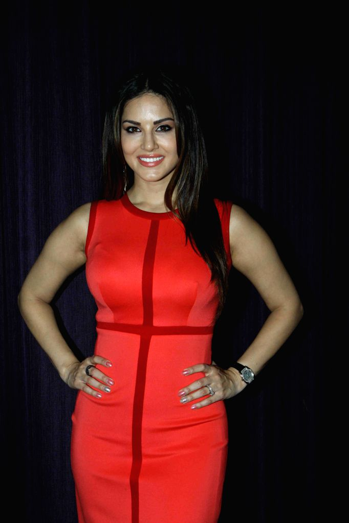 Actress Sunny Leone  during the promotion of film Ek Paheli Leela in Mumbai on March 30, 2015. - Sunny Leone