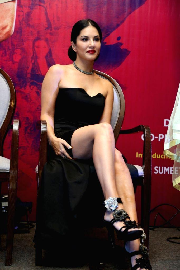 Actress Sunny Leone during the release of song Tu Zaroorat Nahi Tu Zaroori Hai from film Fuddu in Mumbai on Sep 20, 2016. - Sunny Leone