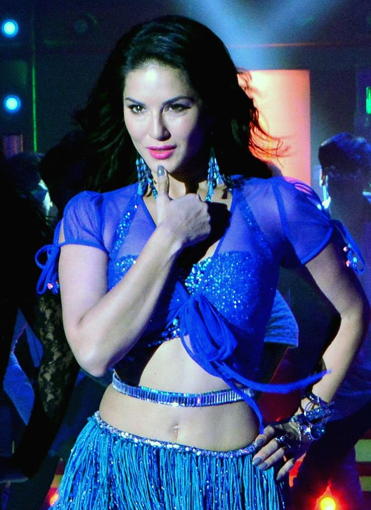 "Actress Sunny Leone during the shooting of her upcoming Bengali film ""Sera Bangali"" in Mumbai on July 25, 2017. - Sunny Leone"