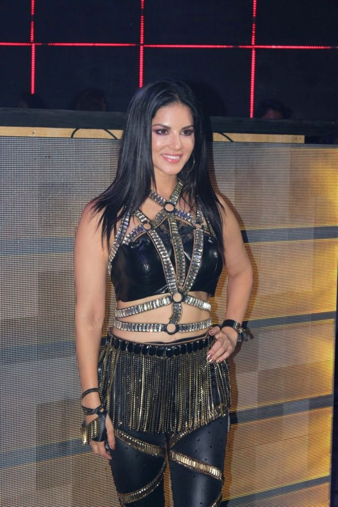 "Actress Sunny Leone on the set of her upcoming music video shoot ""Loka Loka "" in Mumbai on August 03, 2017. - Sunny Leone"