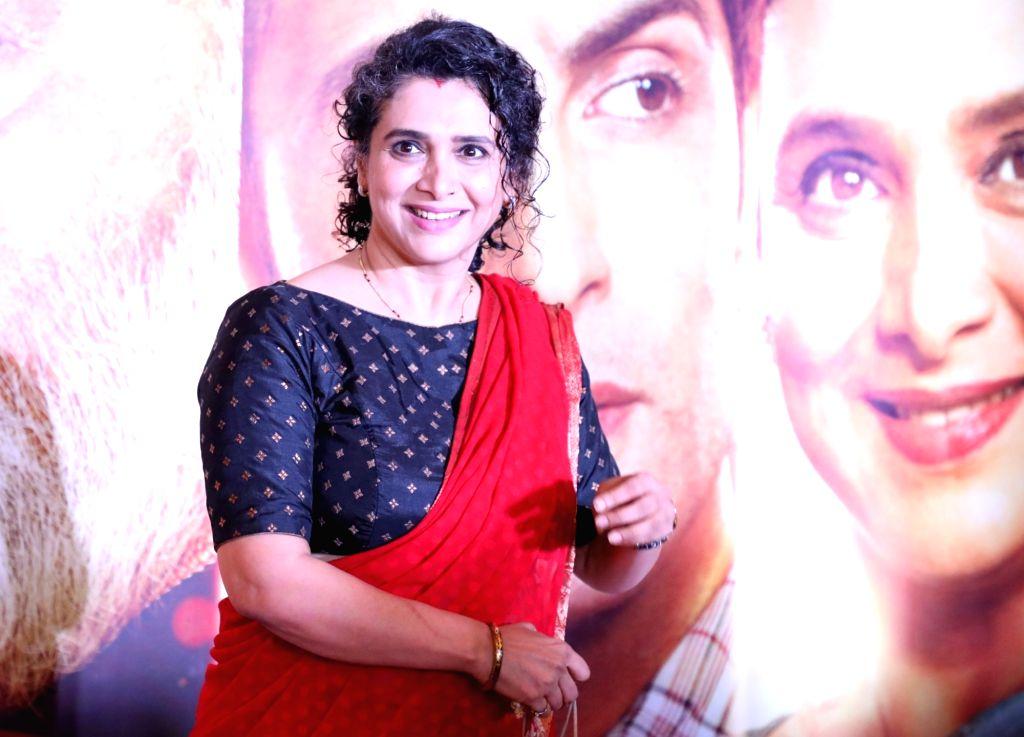 "Actress Supriya Pilgaonkar at the screening of her upcoming film ""Family of Thakurganj"" in Mumbai, on July 17, 2019. - Supriya Pilgaonkar"