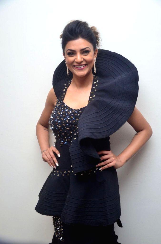 Actress Sushmita Sen during a programme in Hyderabad on June 9, 2017. - Sushmita Sen