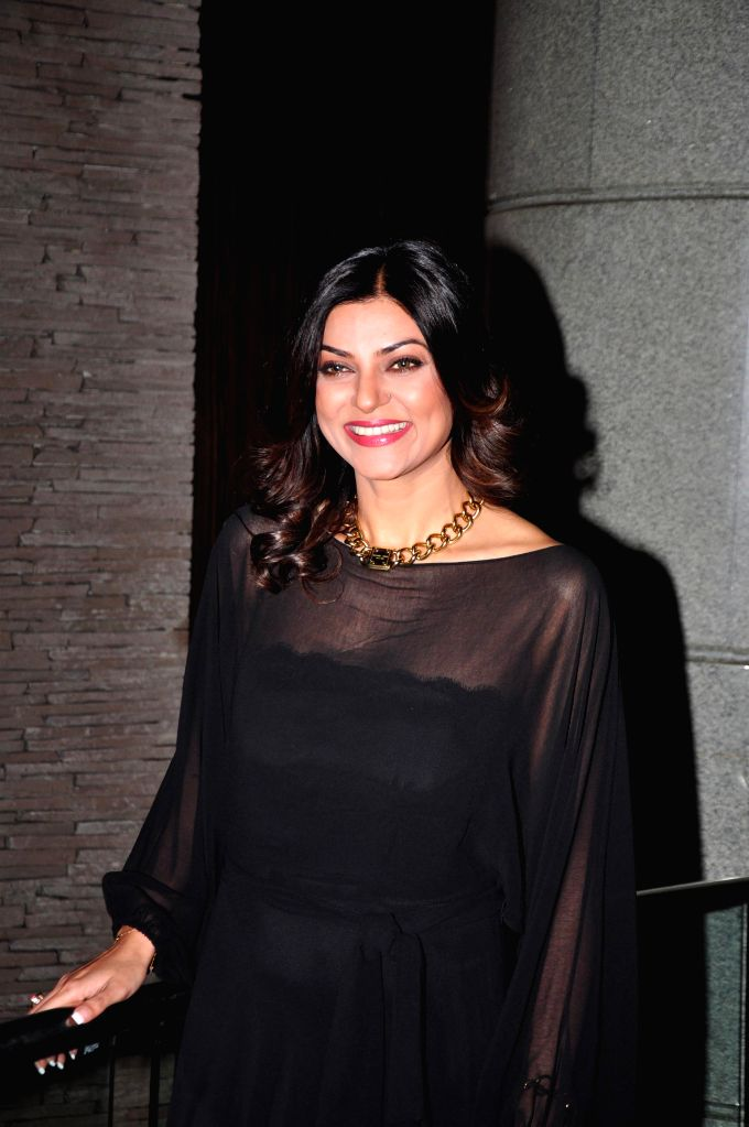 Actress Sushmita Sen during the launch of The English Manner Finishing and Style Academy (A Wasan Knowledge Hub) in Mumbai on Dec 1, 2014.