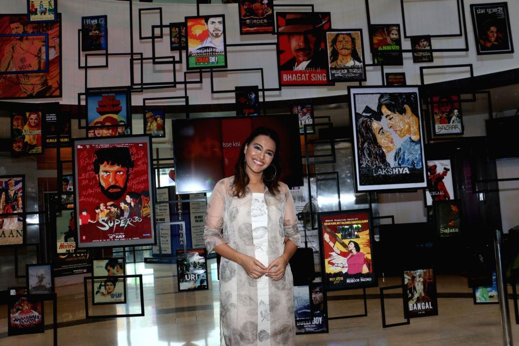 Actress Swara Bhasker during Cinema Festival 2019 organised by Whistling Woods International in Mumbai on Sep 20, 2019. - Swara Bhasker