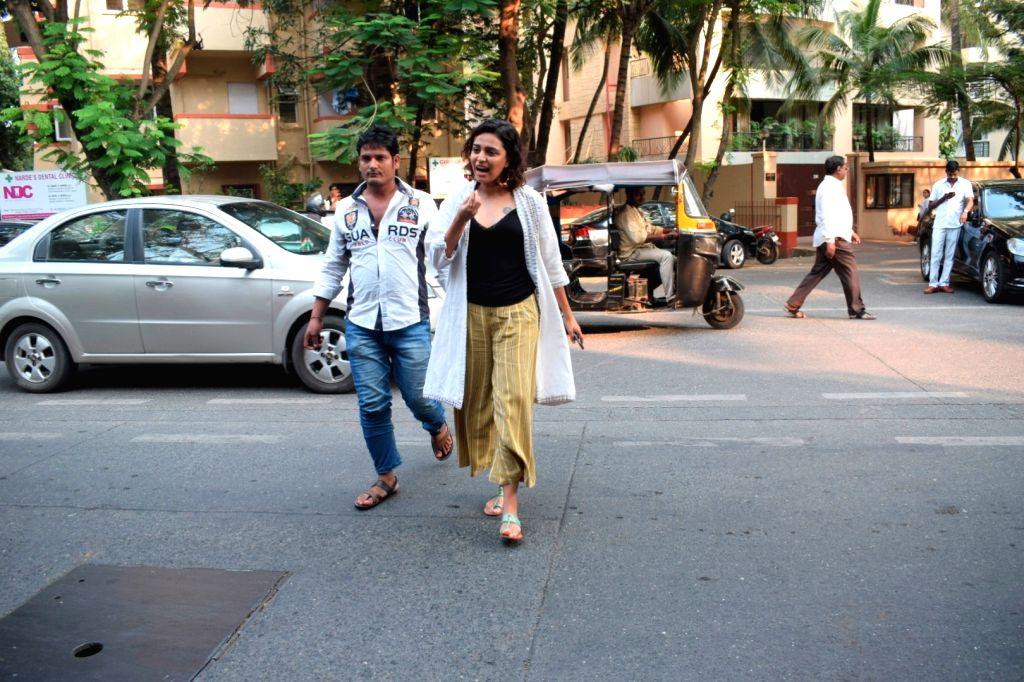 Actress Swara Bhasker seen at Mumbai's Juhu on Oct 4, 2018. - Swara Bhasker