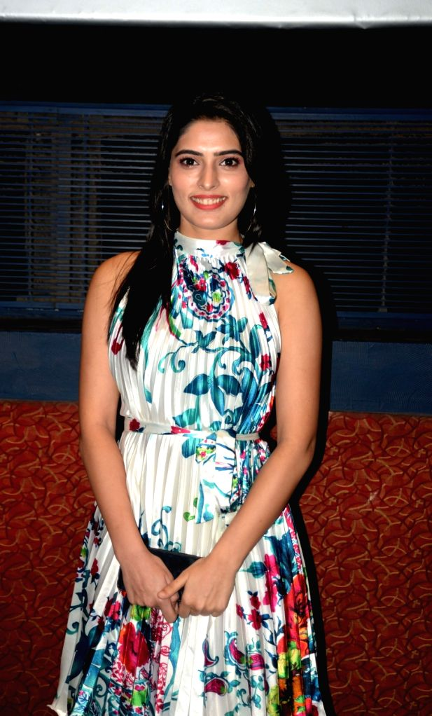 "Actress Swati Bakshi during the special screening of her upcoming film ""When Obama Loved Osama"", in New Delhi on July 28, 2018. - Swati Bakshi"
