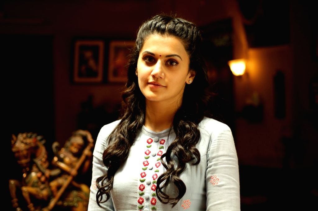 "Actress Taapsee Pannu ""Anandobrahma"" Movie Stills on Hyderabad, July 04, 2017. - Taapsee Pannu"