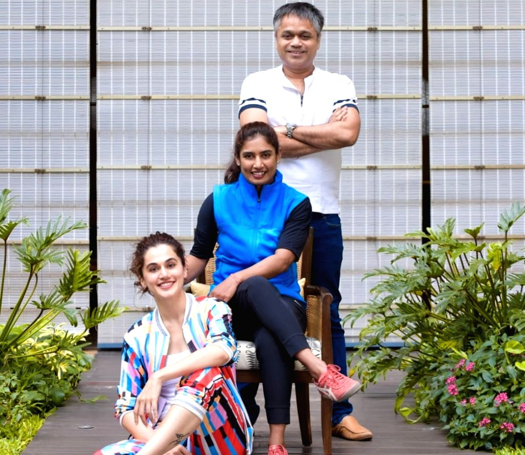 """Actress Taapsee Pannu will be bringing the story of ace Indian cricketer Mithali Raj alive on the big screen with a biopic titled """"Shabaash Mithu"""", which will be directed by Rahul Dholakia. - Taapsee Pannu"""