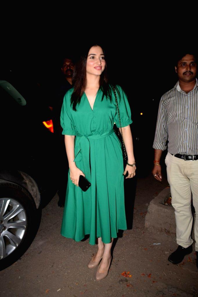 Actress Tamanna Bhatia seen at Juhu, Mumbai on May 24, 2018. - Tamanna Bhatia