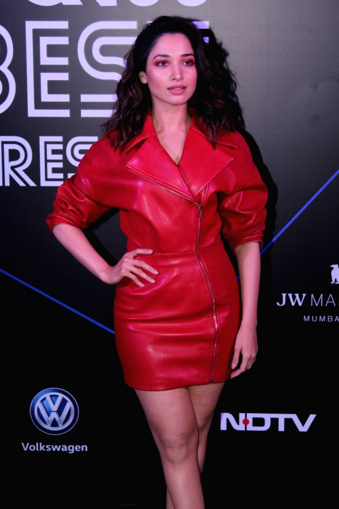 "Actress Tamannaah Bhatia at ""GQ 100 Best Dressed Awards 2019"", in Mumbai, on June 1, 2019. - Tamannaah Bhatia"