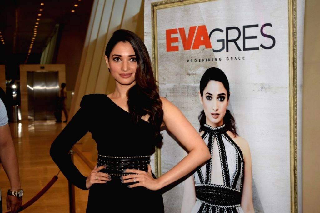 Actress Tamannaah Bhatia during a promotional programme in Mumbai on Sept 16, 2018. - Tamannaah Bhatia