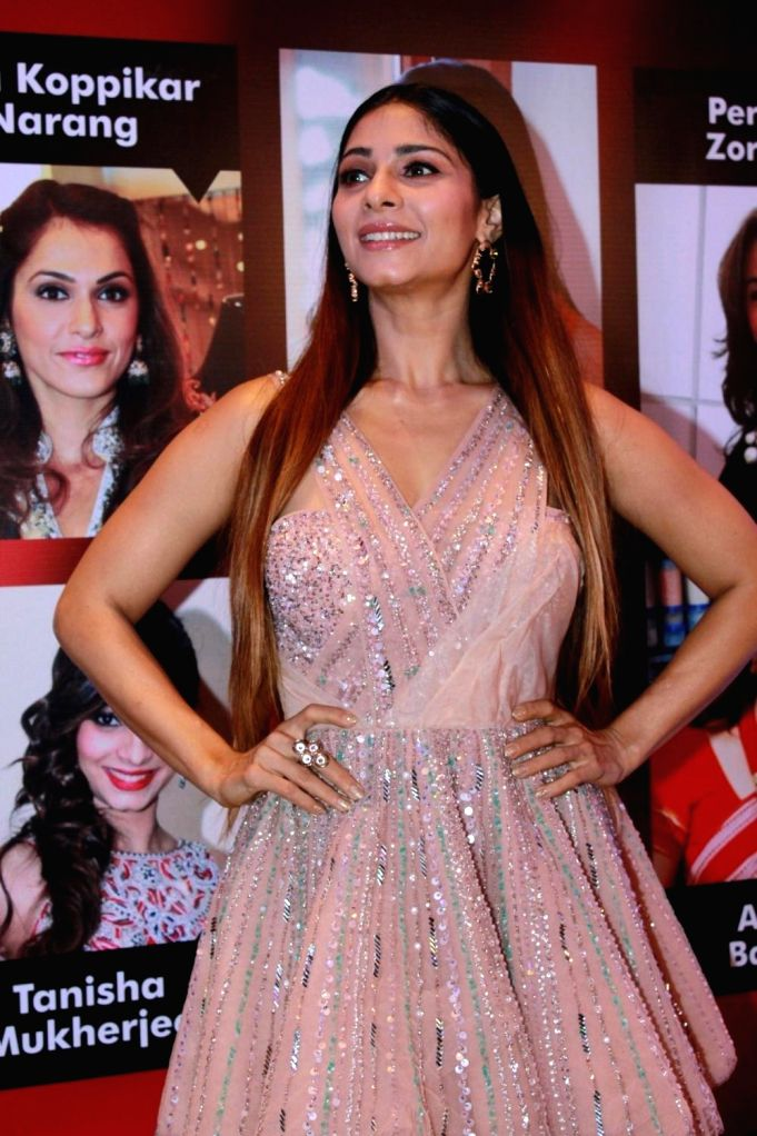 Actress Tanishaa Mukerji at the 15th FURA Retail Jeweller India Awards 2019 in Mumbai, on July 29, 2019. - Tanishaa Mukerji