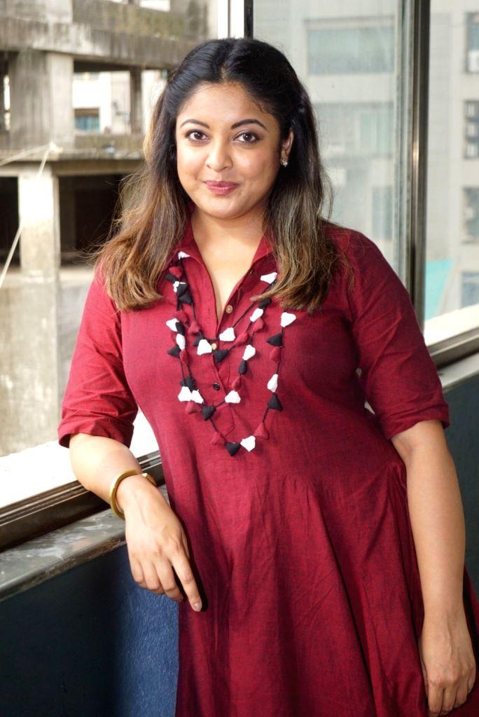 Actress Tanushree Dutta during an interview in Mumbai, on Aug 2, 2018. - Tanushree Dutta