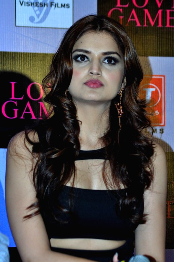 Actress Tara Alisha during a press conference of film Love Games, in Mumbai, in Mumbai, on March 29, 2016. - Tara Alisha