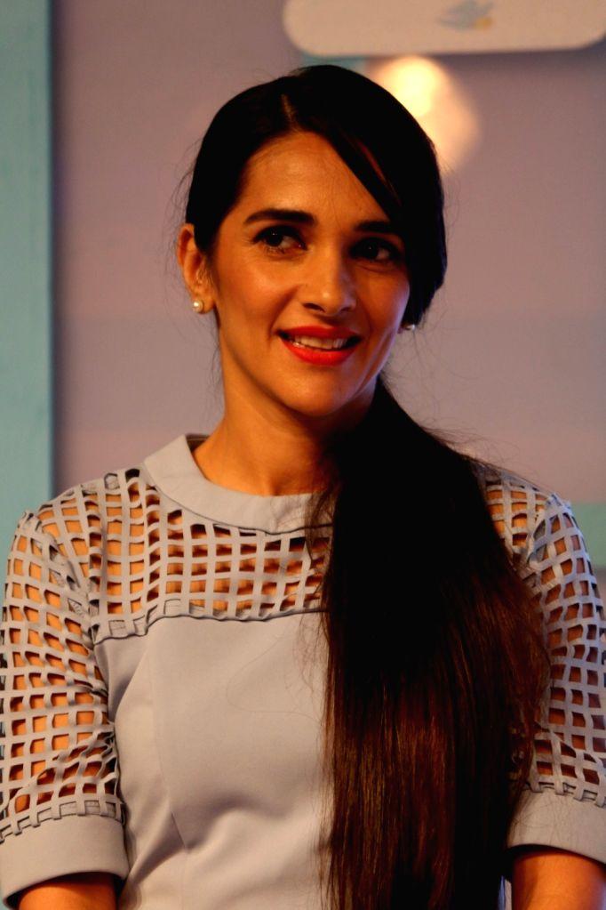 Actress Tara Sharma during the launch of Dove baby care products Baby Dove, in Mumbai, on Oct 4, 2016. - Tara Sharma