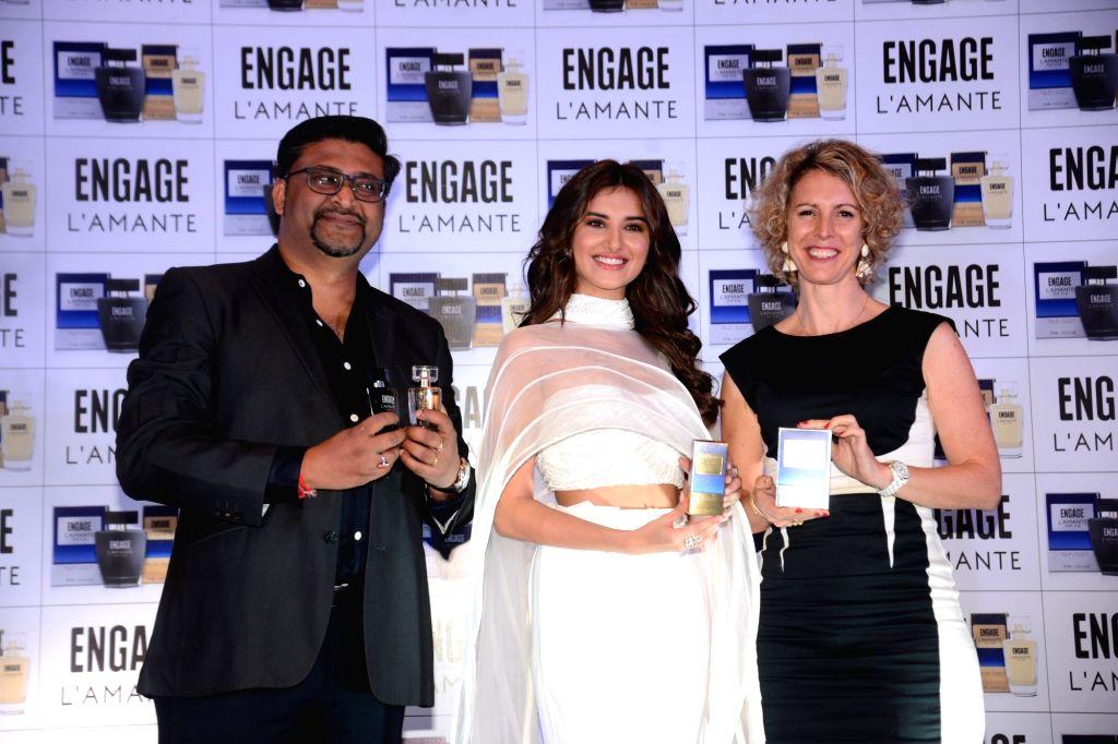 Actress Tara Sutaria at a product launch programme, in Mumbai on July 18, 2019. - Tara Sutaria