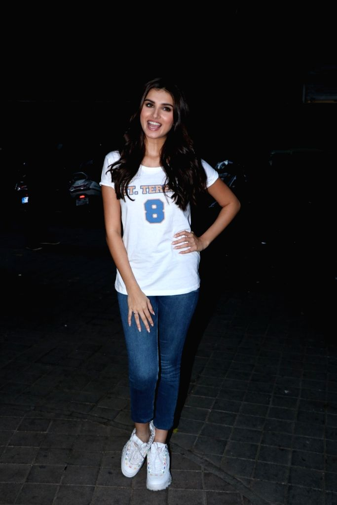 """Actress Tara Sutaria at an interaction programme of her recently released film """"Student of the Year 2"""", in Mumbai, on May 11, 2019. - Tara Sutaria"""
