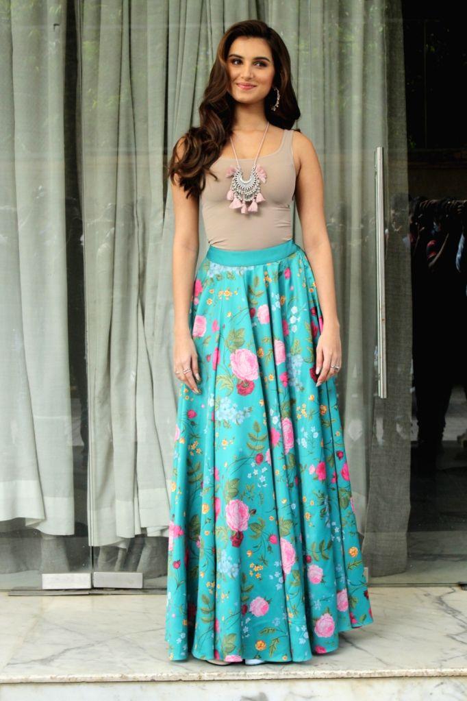 "Actress Tara Sutaria during promotions of upcoming film ""Marjaavaan"" in Mumbai on Oct 31, 2019. - Tara Sutaria"