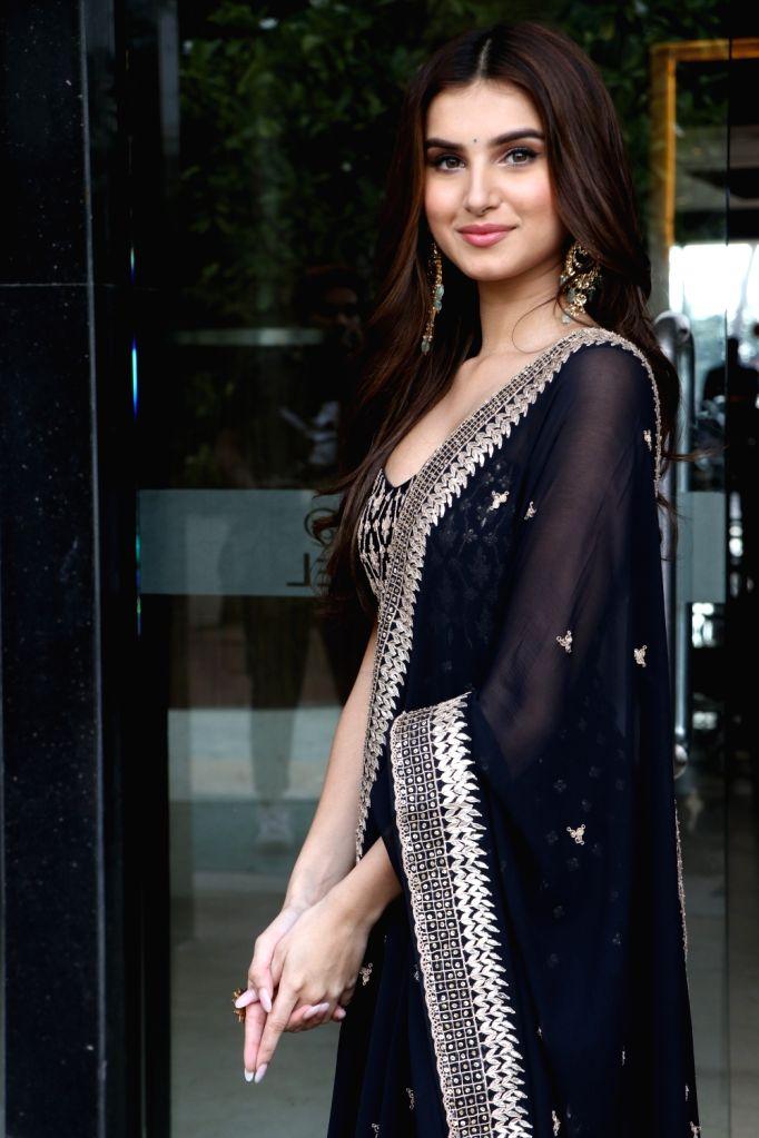"Actress Tara Sutaria during the promotions of her upcoming film ""Marjaavaan"" in Mumbai on Nov 7, 2019. - Tara Sutaria"