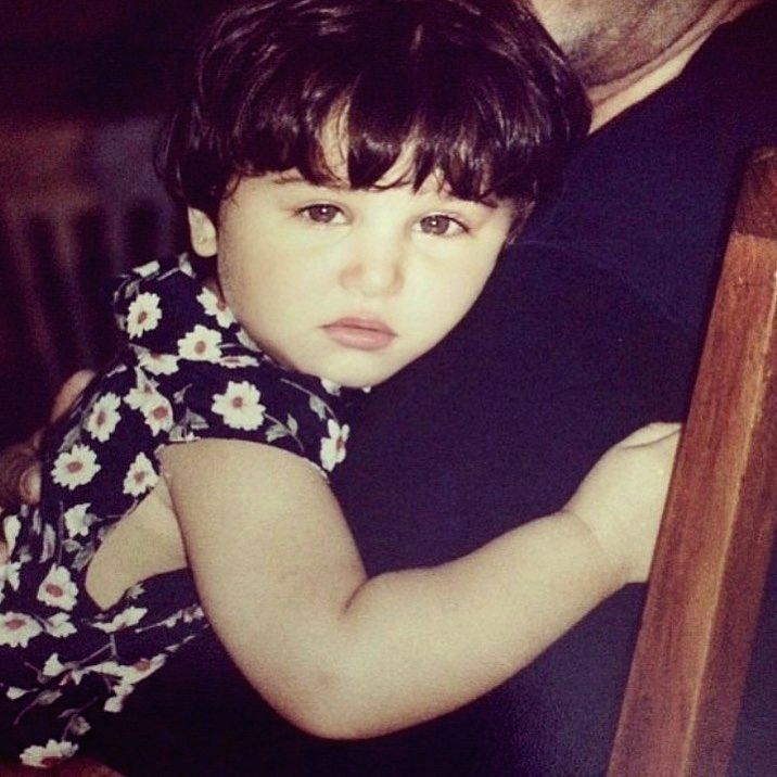 "Actress Tara Sutaria's childhood photograph reminded actor Arjun Kapoor of actress Kareena Kapoor Khan's son Taimur Ali Khan. Tara, who made her debut in Bollywood with ""Student Of The Year ... - Tara Sutari, Arjun Kapoor, Kareena Kapoor Khan and Taimur Ali Khan"