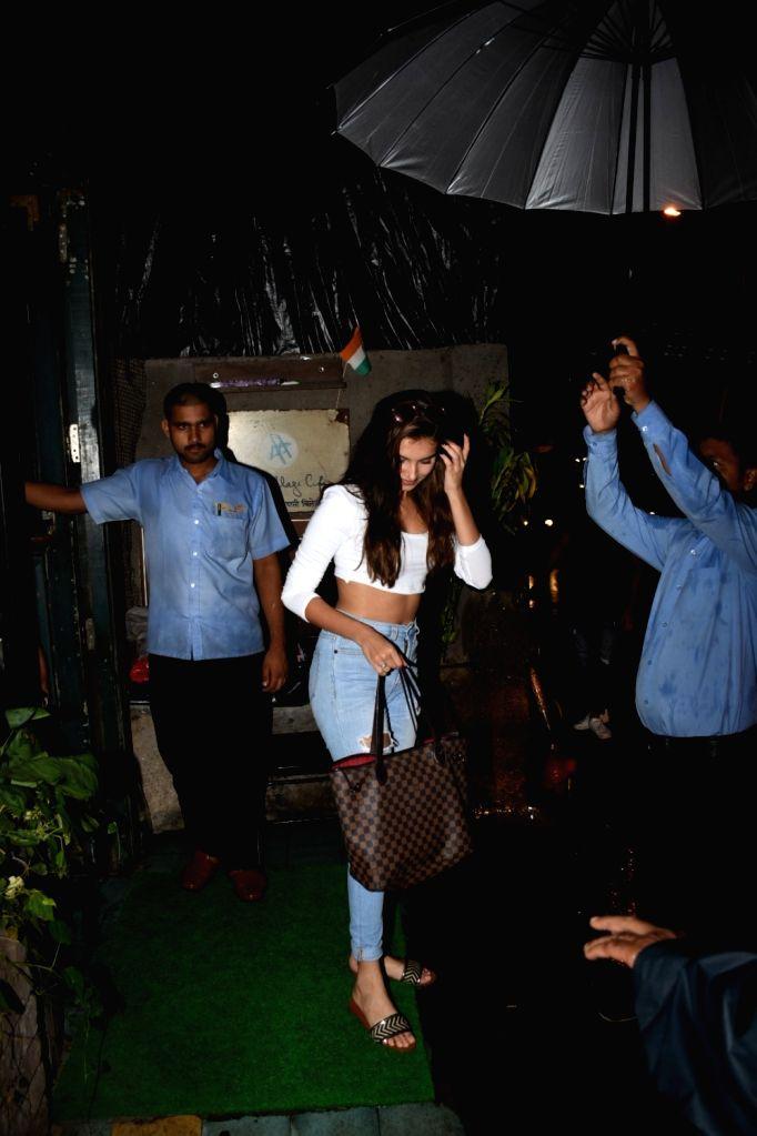 Actress Tara Sutaria seen at a cafe in Bandra, Mumbai on June 14, 2019. - Tara Sutaria