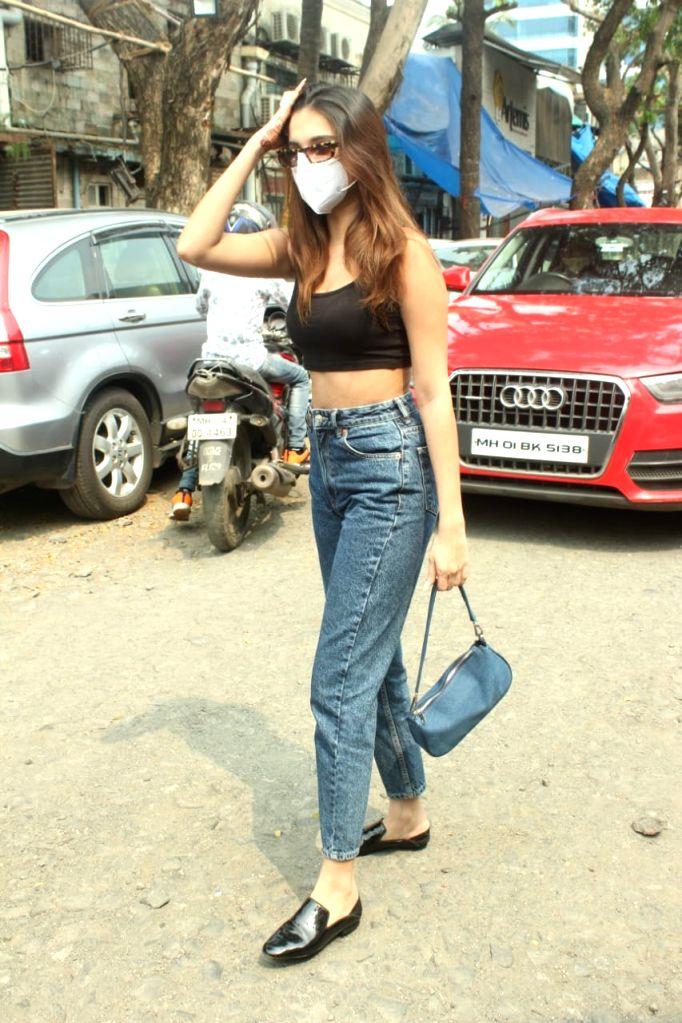 Actress Tara Sutaria seen at Andheri in Mumbai on Oct 13, 2020. - Tara Sutaria