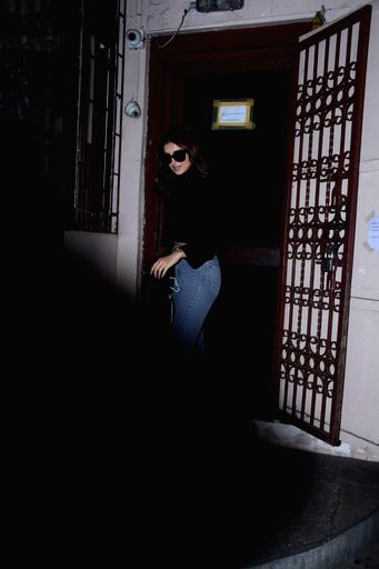 Actress Tara Sutaria seen at Bandra in Mumbai on Jan 8, 2021. - Tara Sutaria