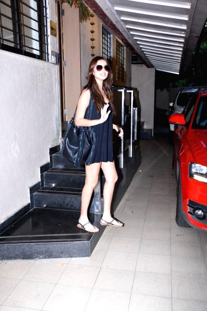 Actress Tara Sutaria seen in Mumbai on Oct 17, 2019. - Tara Sutaria