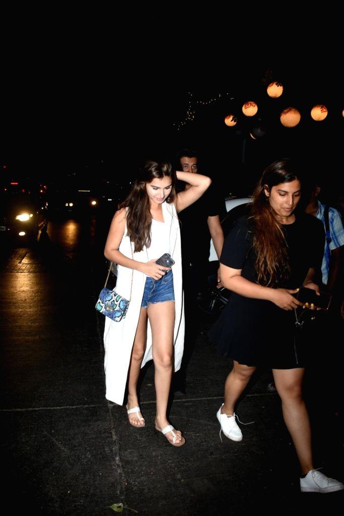 Actress Tara Sutaria seen in Mumbai's Bandra, on May 30, 2019. - Tara Sutaria