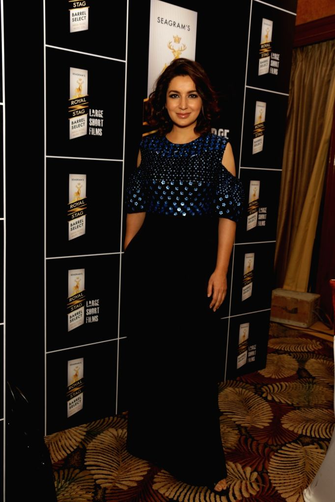 Actress Tisca Chopra at a panel discussion hosted by Royal Stag Barrel Select Large Short Films in Gurugram on Feb 10, 2018. - Tisca Chopra