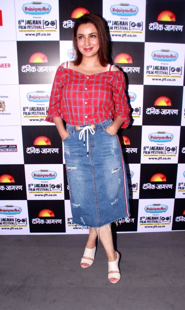 Actress Tisca Chopra during Jagran Film Festival in New Delhi, on July 3, 2017. - Tisca Chopra