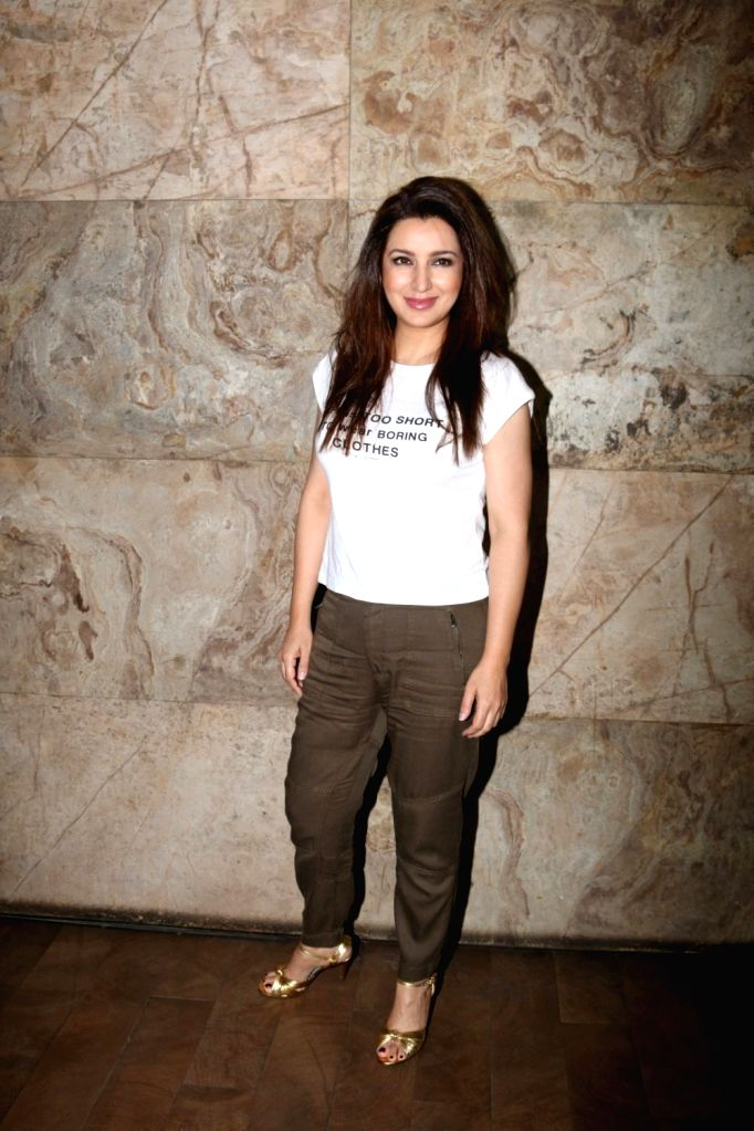 Actress Tisca Chopra during the special screening of short film Chutney in Mumbai, on Nov 28, 2016. - Tisca Chopra