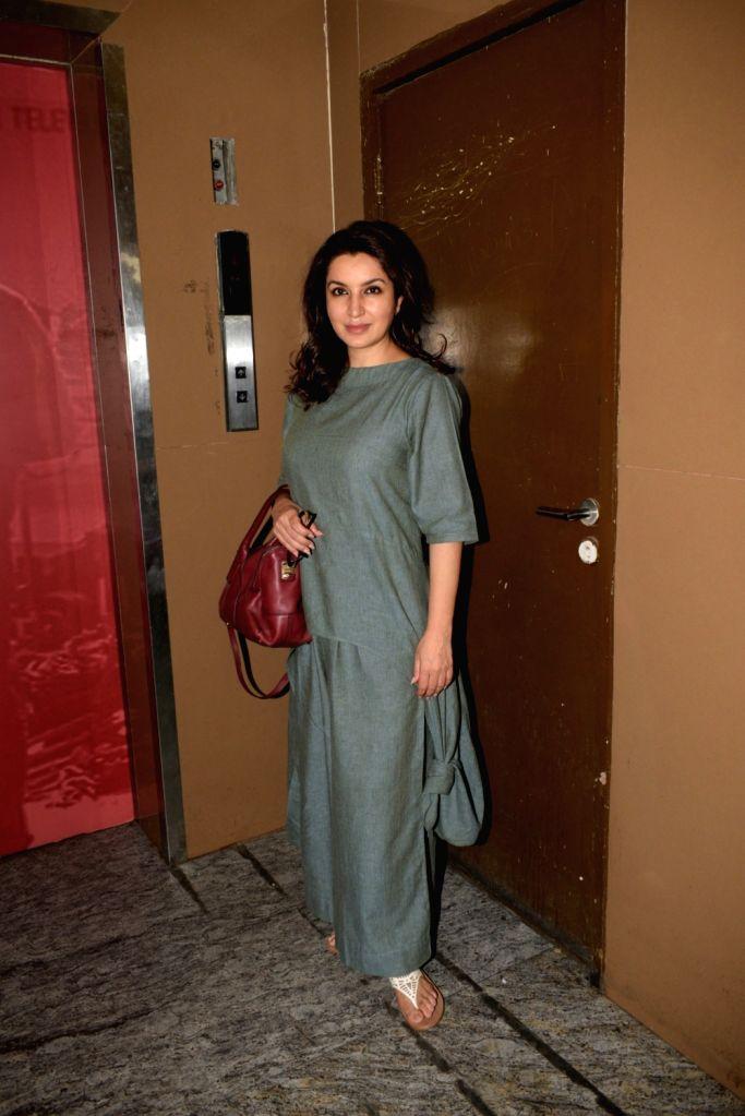 Actress Tisca Chopra seen in Mumbai's Juhu, on April 9, 2019. - Tisca Chopra