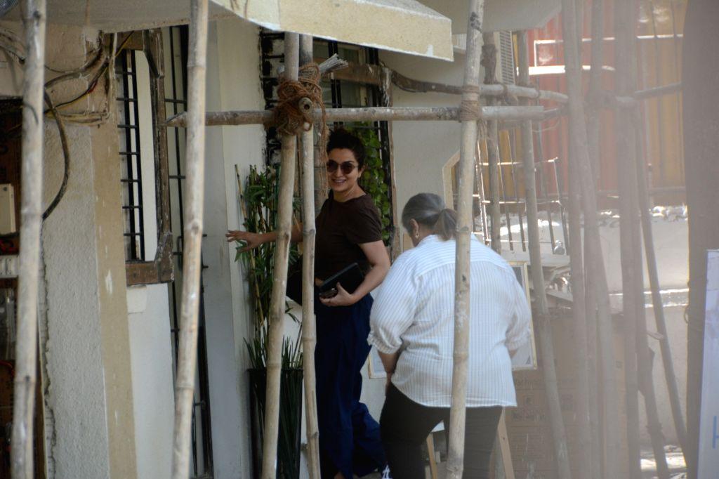 Actress Tisca Chopra seen in Mumbai's Juhu, on May 26, 2019. - Tisca Chopra