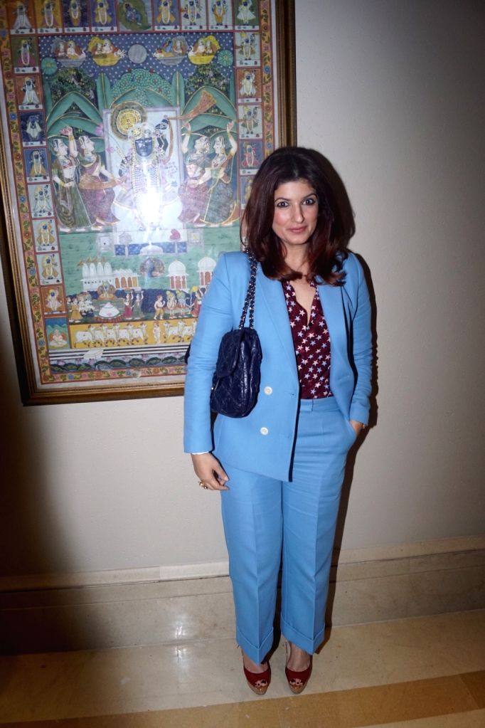 Actress Twinkle Khanna during a programme in Mumbai on Feb 14, 2018. - Twinkle Khanna