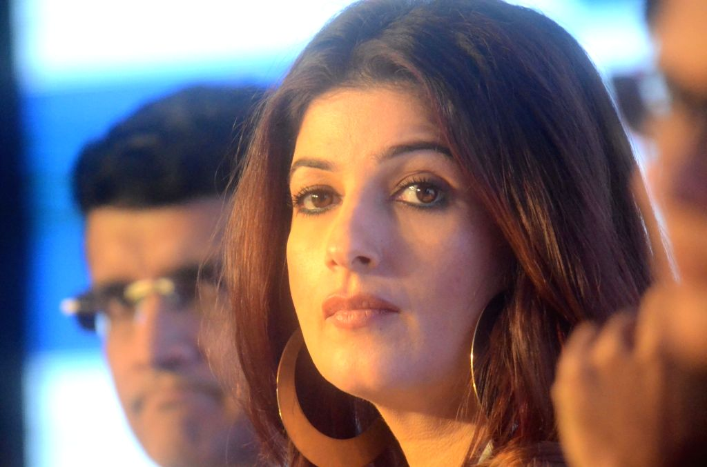 Actress Twinkle Khanna during HaarKoHarao Campaign in Mumbai on Nov 30, 2017. - Twinkle Khanna