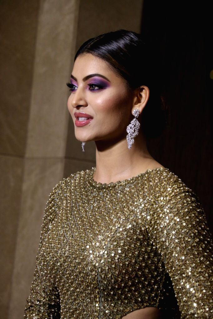 "Actress Urvashi Rautela at ""Urbane Awards 2019"", in Mumbai, on June 1, 2019. - Urvashi Rautela"